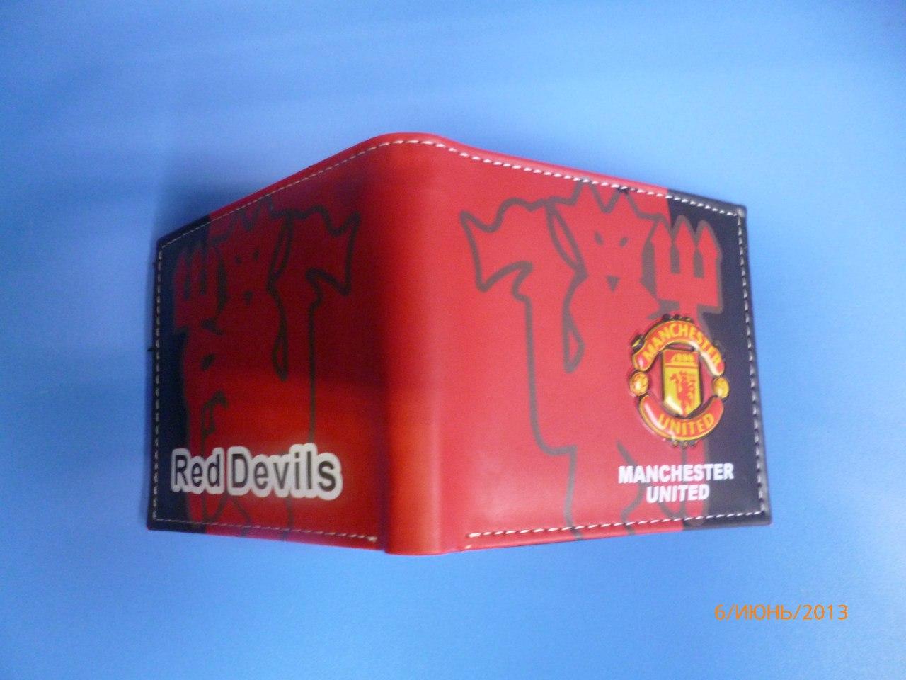 f750fda658a7 ... Кошелёк с символикой футбольного клуба Манчестер Юнайтед. Фирменные магазины  спортивной одежды МИР РЕГБИ Красноярск. ...